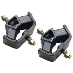 2 Rear Engine Gear Box Mounts Nissan Navara D22 2001 to 2007 4X4 4cyl ZD30 ZD30DDT 3.0L   EM7410PR