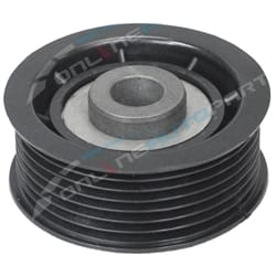 RH Upper Engine Belt Idler Pulley suits Mitsubishi Pajero V6 6G74 6G75 3.5L 3.8L 2000 ~ 2011 | ZPN-20231