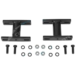 Front Set of 2 Sway Bar D Bush Bracket Cozza 4x4