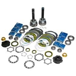 Swivel Hub Kit + CV Joints Aftermarket OEM Replacement | ZPN-15014