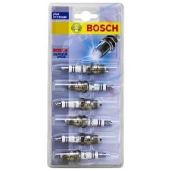 Bosch Spark Plug Set Ford Falcon Fairmont LTD Fairlane AU 6cyl 4.0L 3984cc 2000 2001 2002 2003 | S29-6