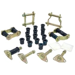 Greasable Shackle Pin Full Kit 4x4 Leaf Spring Front Rear suits Toyota HILUX Urethane | SKTHLF
