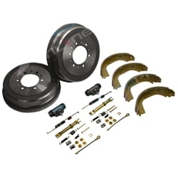 Brake Drums Shoes Wheel Cylinders Kit suits Toyota Hilux LN167 LN172 1997~05 4X4 | ZPN-16268