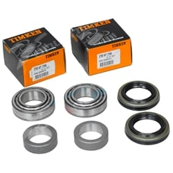 2x Timken Rear Wheel Bearing Kits Holden 1971-1985 HQ HJ HX HZ WB With Drum Brake Rear