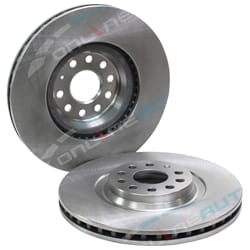 Front Set of 2 Disc Rotor Tora | DR2830-X-2