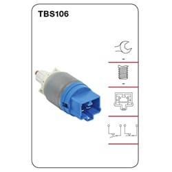 1 x Brake Stop Light Switch (Tridon) | TBS106