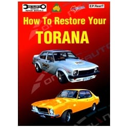 Holden Torana Restoration Manual 168p Book 6cyl V8 69-88 LC LJ LH LX UC Ellery