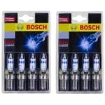Set of 8 Bosch Iridium Platinum Spark Plugs Holden Calais VN VP VR VS VT 5.0L V8 LB9 1989 to 1999 Fusion   ZPN-23154