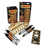 Tough Dog Coil Spring Lift Kit TJ Jeep Wrangler 9 Stage Adjustable Shock Absorbers 10/96-2007 | TDLKJWTJ