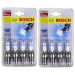 Bosch Spark Plugs Set Holden Commodore Torana HG HJ HQ HT HX LH VB V8 308 Red 5.0L 308ci Engine 1969 to 1980   ZPN-23225