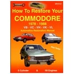 Holden Commodore VB VC VH VK VL Restoration Book 6 + V8 Workshop How to Restore | EPH131