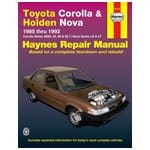 Haynes Car Repair Manual Book suits Toyota Corolla 84-94 AE80 AE82 AE90 AE92 | 92726