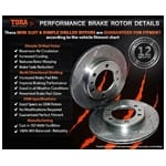 Disc Rotor (Front LH or Front RH) Tora | DR096SLX