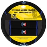 Official NRL Newcastle Knights Steering Wheel Cover & Seat Belt Buddies | ZPN-13451