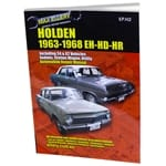 Workshop Repair Manual Book Holden EH HD HR 1963-1968 Premier Max Ellery 276page | EPH2