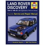 Haynes Car Repair Manual Book Land Rover Discovery 1989-1998 Petrol + Diesel Engines | 3016