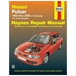 Haynes Car Repair Manual Book Pulsar N15 1995-2000 Sedan + Hatch 1.6L 1.8L | 72773
