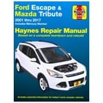 Haynes Car Repair Manual Book Ford Escape 2001-10 BA ZA ZB ZC ZD 2001-2010 | 36022