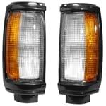 Front Corner Lamps Black Corner Park Light / Lamp Aftermarket OEM Replacement | ZPN-34612