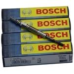 4 x Bosch Glow Plugs fit Holden Cruze JG Turbo Diesel SOHC 4cyl Z20S1 2.0L 2009-2011   0250403010-X-4