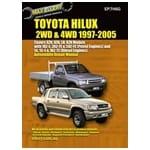 Repair Manual Hilux 1997-2005 2x4 4x4 Diesel LN147 LN167 LN172 3.0L 5L 5L-E Book | EP.TH6G
