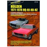 New Workshop Repair Manual Holden Kingswood HQ HJ HX HZ 6cyl V8 Monaro New Book | EPH4