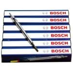 6 x Bosch Diesel Glow Plugs fit Territory SZ 2011-2014 MPI 24v DOHC 6cyl 2.7ltr   ZPN-14258