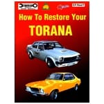 Holden Torana Restoration Manual 168p Book 6cyl V8 69-88 LC LJ LH LX UC Ellery | EP.RESTT